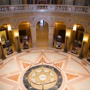 State Capitol Rotunda, St Paul MN