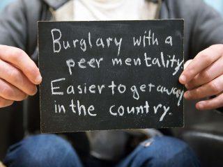 Graduate Student: Burglary